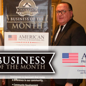 American Painting & Renovations Named September 2017 Chairman's Club Business of the Month