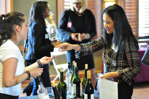 Women's Wine Tasting Business Connection – April 2018