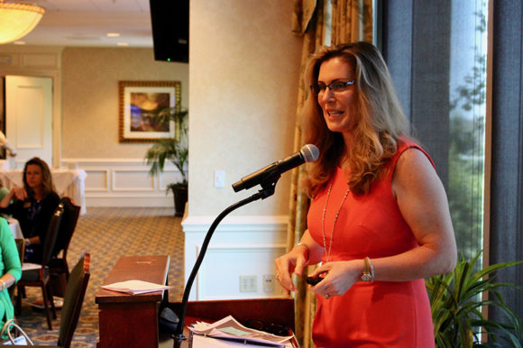 "Author Joyce Bone presents ""Millionaire Mom"" insights at GLOW luncheon"