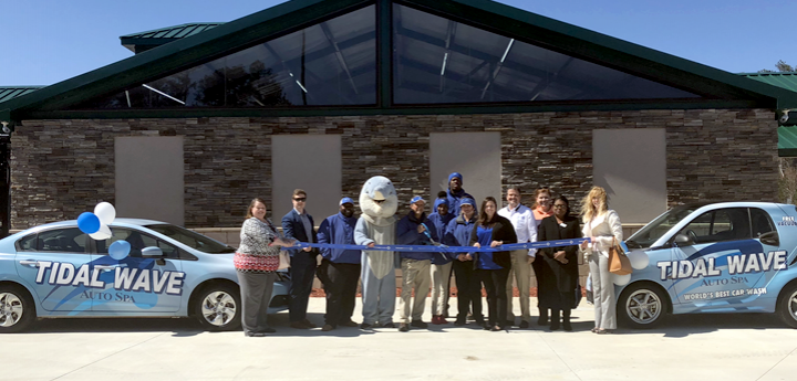Tidal Wave Auto Spa rolls in to Dacula