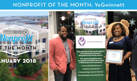 YO Gwinnett Named January 2018 Nonprofit of the Month