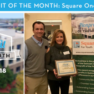Square One for Youth Named March 2018 Nonprofit of the Month