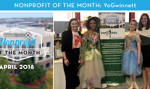 Gwinnett Ballet Theatre Named April 2018 Nonprofit of the Month