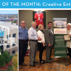 Creative Enterprises is the May 2018 Nonprofit of the Month