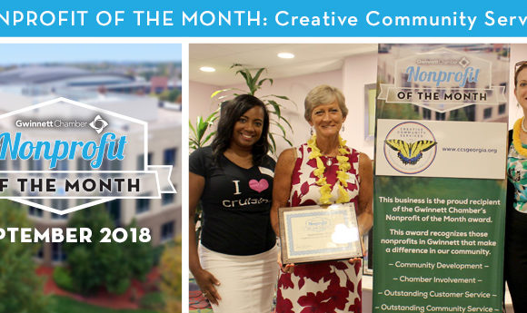 Creative Community Services Selected as September 2018 Nonprofit of the Month
