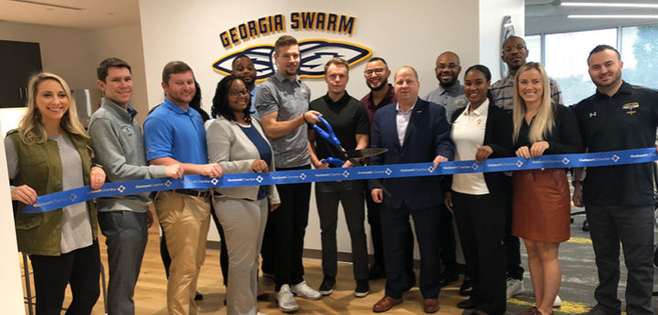 Georgia Swarm opens new state-of-the-art office complex