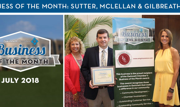 Sutter, McLellan & Gilbreath, Inc. Named July 2018 Business of the Month