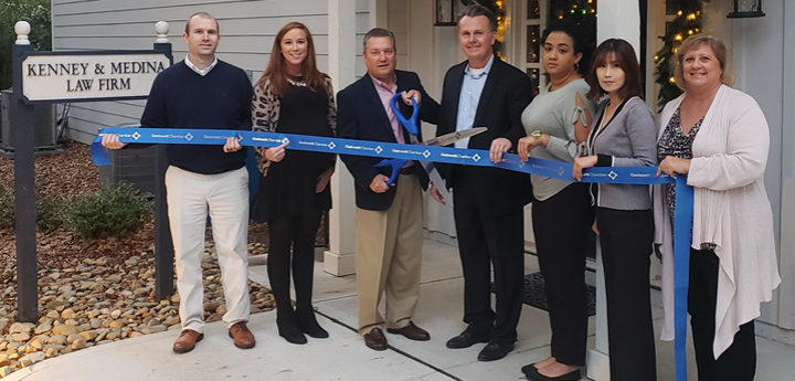 Kenney and Medina Law Firm opens new office in Suwanee