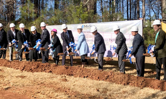 MeSun Skill Nursing Facility and Hospice addition celebrates groundbreaking