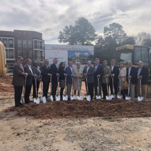 First American Bank and Trust breaks ground in Lawrenceville
