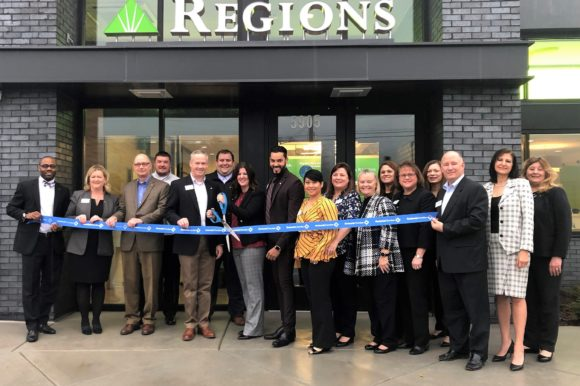 Regions Banks opens Sugar Hill location