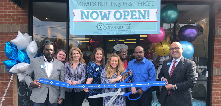 Mimi's Boutique & Thrift celebrates ribbon cutting