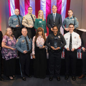 Public safety professionals receive top honors for bravery at Valor Awards