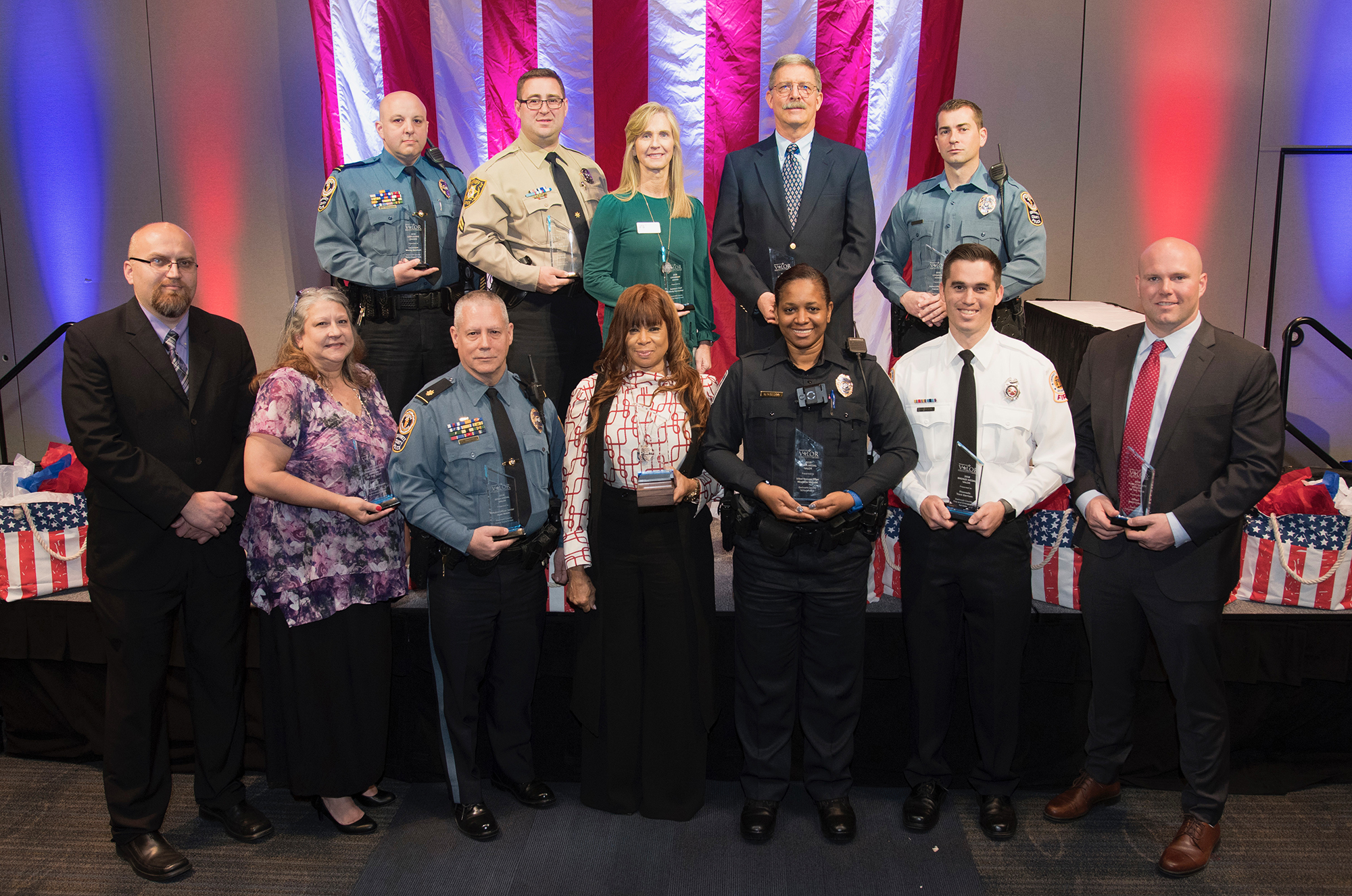 Public safety professionals receive top honors for bravery