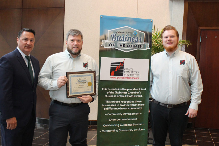 Grace Computer Resources Named March 2019 Business of the Month
