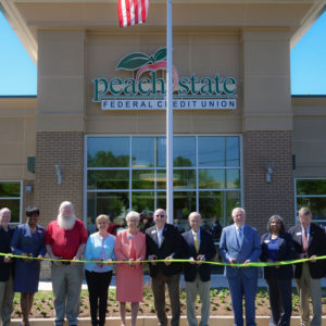 Peach State Federal Credit Union cuts ribbon on new location