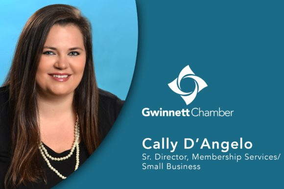 Gwinnett Chamber names Cally D'Angelo Senior Director of Membership Services/Small Business