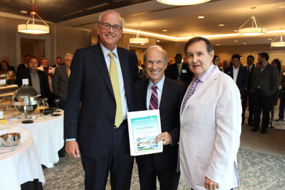 Gwinnett Chamber board and members pay tribute to Dr. Dan Kaufman