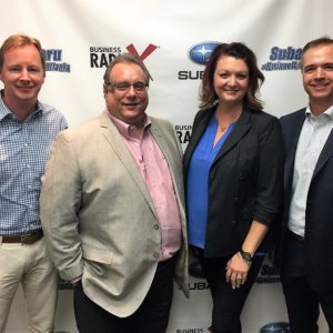 IMPACT winners featured on Business RadioX