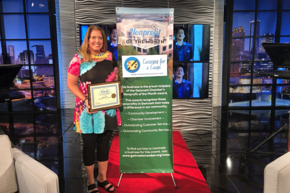 Canvases For A Cause named July Nonprofit of the Month