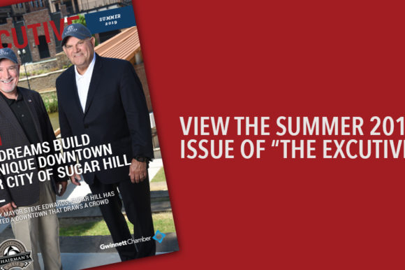 """View the Summer 2019 Issue of """"The Executive"""""""