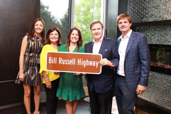 Bill Russell and Richard Tucker honored with highway dedication ceremony