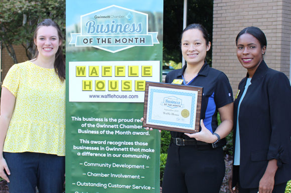Waffle House named September Business of the Month