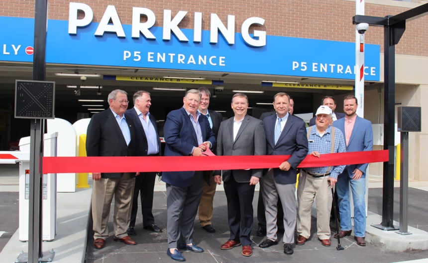 Officials open Infinite Energy Center's new 2,400-space parking deck