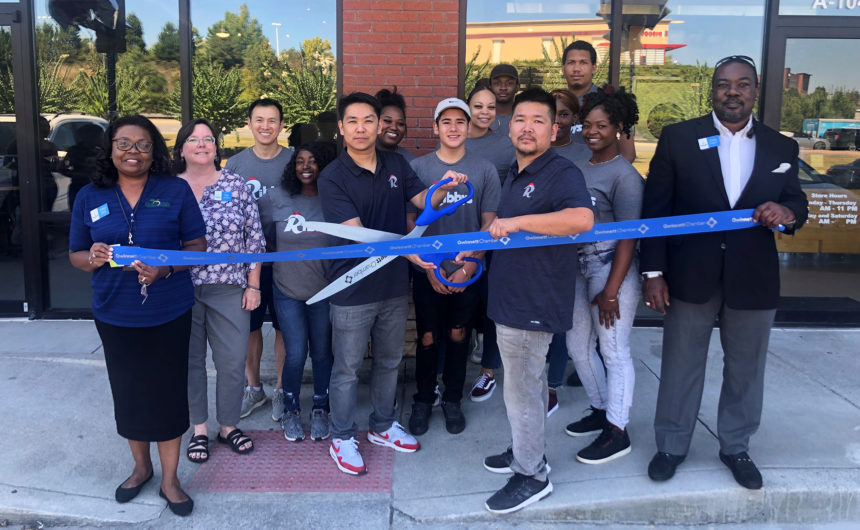Ribbys celebrates ribbon cutting in Lawrenceville
