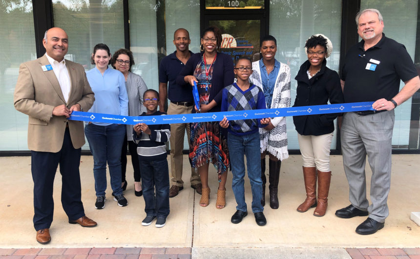 ACR Speaking Dimensions, INC celebrates ribbon cutting in Grayson